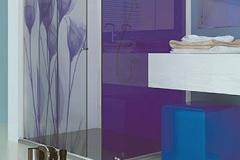 Box para Banheiro de Vidro com Aço Inox - STILO