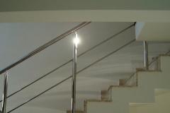Corrimão Escada Caracol - 2 Travessas 03