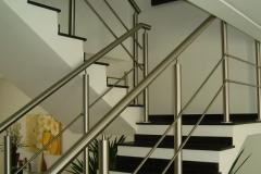 Corrimão Escada Caracol - 2 Travessas 04