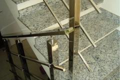 Corrimão Escada Caracol - 3 Travessas 01