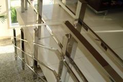Corrimão Escada Caracol - 3 Travessas 03