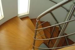 Corrimão Escada Caracol - 3 Travessas 07
