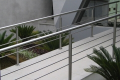 Corrimão Escada Caracol - 3 Travessas 08