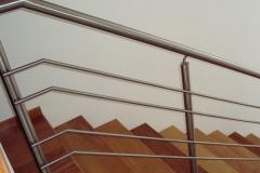 Corrimão Escada Caracol - 4 Travessas 03
