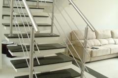 Corrimão Escada Caracol - 4 Travessas 05