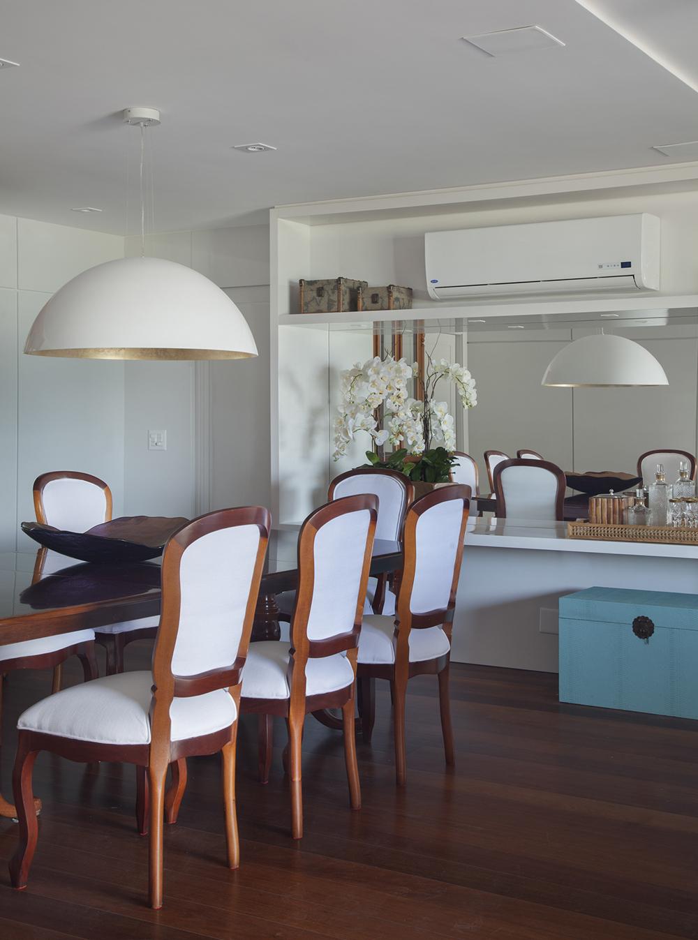 Espelho Para Sala Vidra Aria American Vidros -> Sala De Jantar Retangular Pequena
