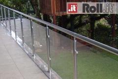 Guarda-corpo de vidro com Aço Inox - Elite V