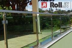 Guarda-corpo de vidro com Aço Inox - Quant V