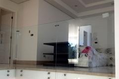 Guarda-corpo de vidro com Aço Inox - BOTTON