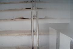 Guarda-corpo de vidro com Aço Inox - DIAMONT