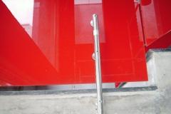 Guarda-corpo de vidro com Aço Inox - SUPREME