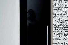 Porta de vidro temperado com aço inox - CLEAN