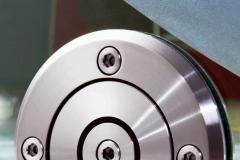 Porta de vidro temperado com aço inox - SOLO E