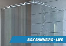 Box para Banheiro Inox - Life