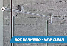 Box para Banheiro Inox - New Clean