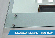 Guarda-Corpo Inox Botton