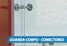 Guarda-Corpo Vidro - Conectores