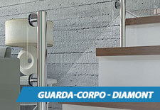 Guarda-Corpo de Vidro Diamont