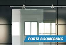 Porta de Vidro Boomerang