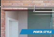 Porta de Vidro Style