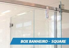 Box para Banheiro Inox - Square