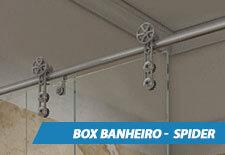Box para Banheiro Inox - Spider