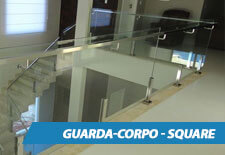 Guarda-Corpo de Vidro Square