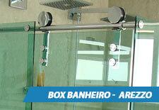 Box para Banheiro Inox - Arezzo