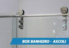 Box para Banheiro Inox - Ascoli