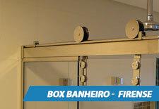 Box para Banheiro Inox - Firense