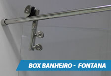 Box para Banheiro Inox - Fontana
