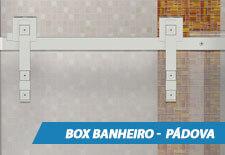 Box para Banheiro Inox - Padova