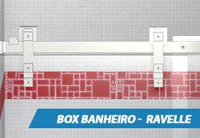 Box para Banheiro Inox - Ravelle