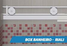 Box para Banheiro Inox - Riali