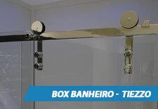 Box para Banheiro Inox - Tiezzo