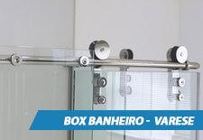 Box para Banheiro Inox - Varese
