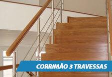 Corrimão para Escada - 3 Travessas