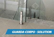 Guarda-Corpo de Vidro Solution