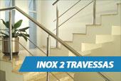 Guarda-Corpo - Inox 2 Travessas