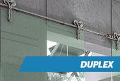 Porta de Vidro Duplex
